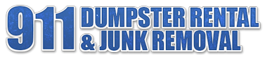 911 Dumpster Rental and Junk Removal logo